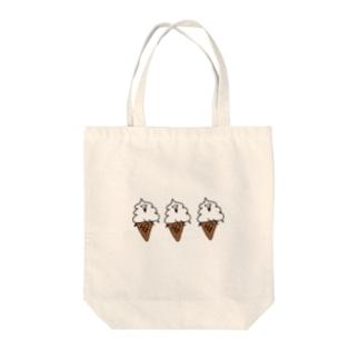 トリプルソフト Tote bags