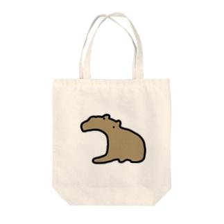 かばさん Tote bags