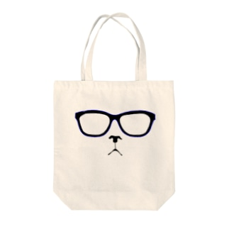 メガネコ Tote bags