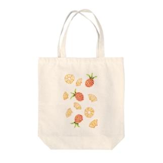 元気な色彩 Tote bags