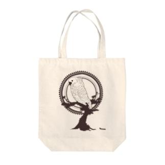 鳥グッズ(タイハクオウム) Tote bags