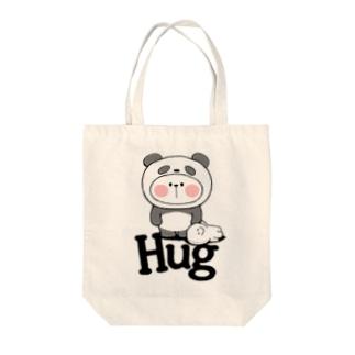 Spoiled Rabbit - Panda / あまえんぼうさちゃん - パンダ トートバッグ