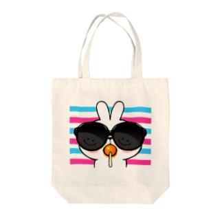 Spoiled Rabbit - Sunglass / あまえんぼうさちゃん - サングラス トートバッグ