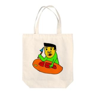 板前くんの休日 Tote bags