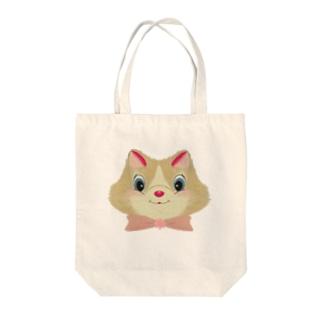 モフちゃん Tote bags