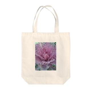 魅力的な葉っぱ Tote bags