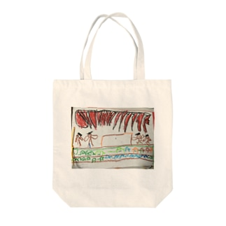 発表会(秀斗のお絵描き) Tote bags