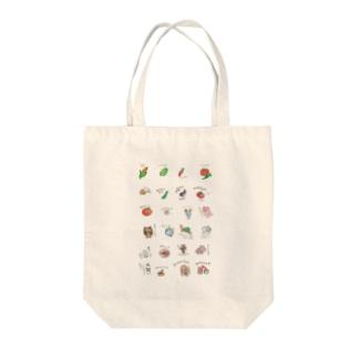 おやすみシリーズ Tote bags