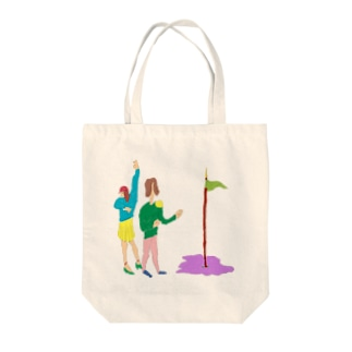 遠足の日々 Tote bags