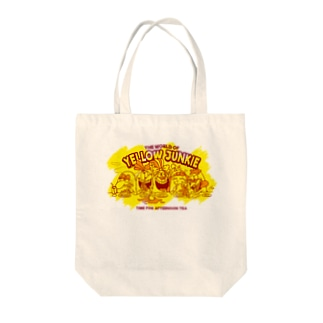 YELLOW JUNKIE「Afternoon Tea」 Tote bags