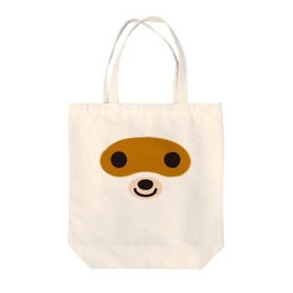 タヌキ-animal up-アニマルアップ- Tote bags