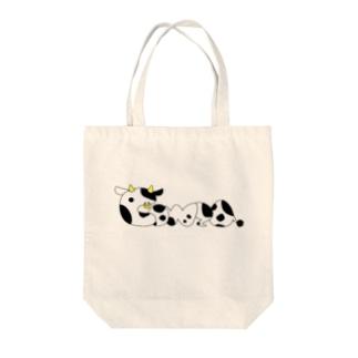 Cowza Tote bags