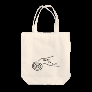 sayacompanyのNatz ya sumi Tote bags