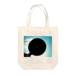 日蝕 Tote bags