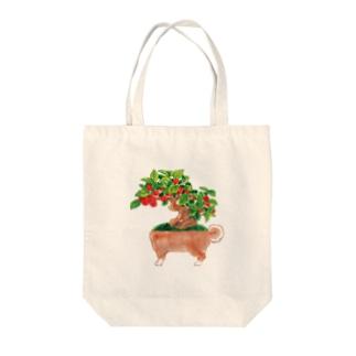 イヌモドキ Tote bags
