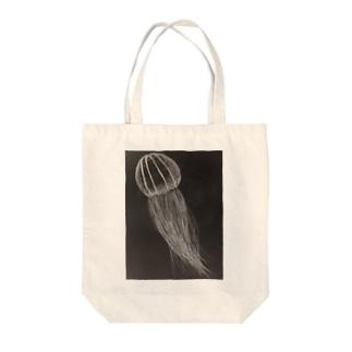 アカクラゲトート Tote bags