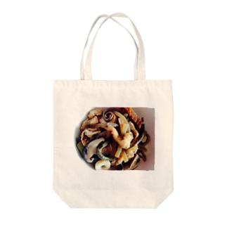 ゼンマイの煮物 Tote bags