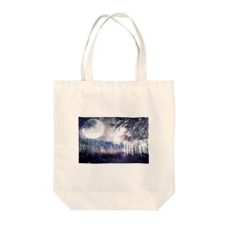 幻想的風景1 Tote bags