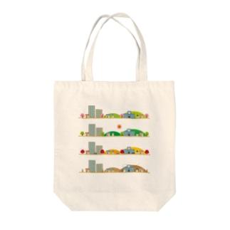 四季 Tote bags
