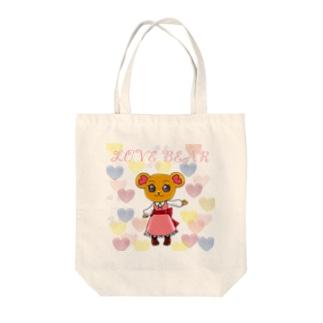 LOVEBEAR Tote bags