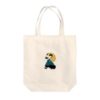 はりねずみの男の子(青) Tote bags