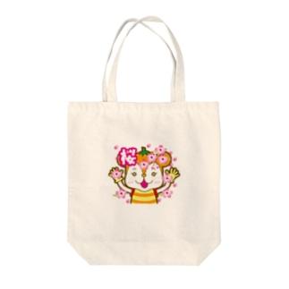 ミカッシュー Tote bags