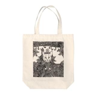 猫の王様 Tote bags