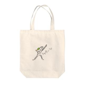 もやしくんシャキーン Tote bags