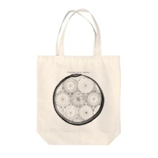 太陽系<アンティーク・イラスト> Tote bags
