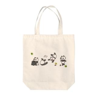 大熊CAT WALK Tote bags