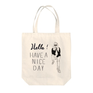 monarie-have a nice day Tote bags