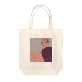 きんぱちゅおねえさん Tote bags