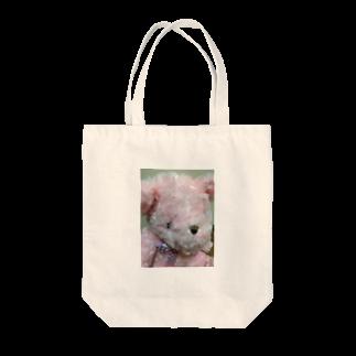生駒愛のくまちゃん♪ Tote bags
