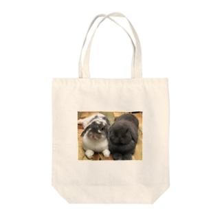 サスケとゴマ Tote bags