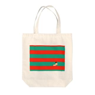 クロゴルファー Tote bags