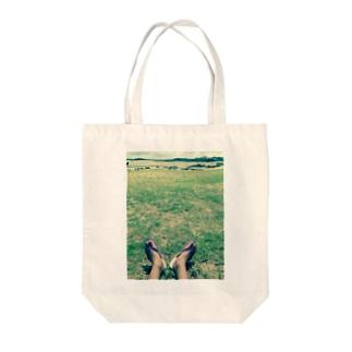南の島の過ごし方 Tote bags