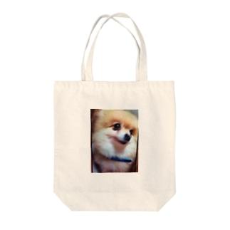 ポメラニアン Tote bags