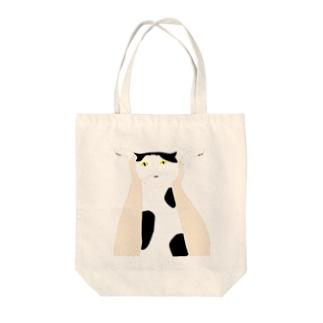 高い高い猫 Tote bags