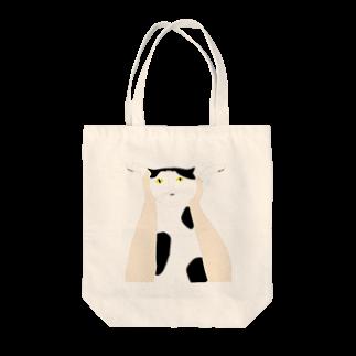 高い高い猫 トートバッグ