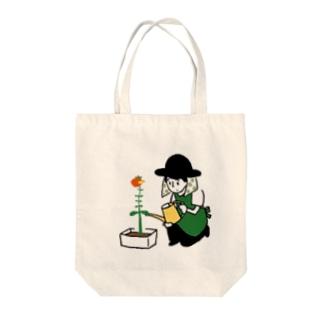 アニメーション研究no.8「ガーデニングはじめました」 Tote bags