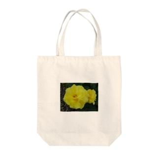 親子バラ、カップルバラ~情熱 Tote bags