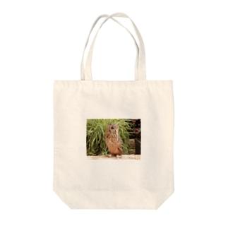私は鳥~するどい目線 Tote bags