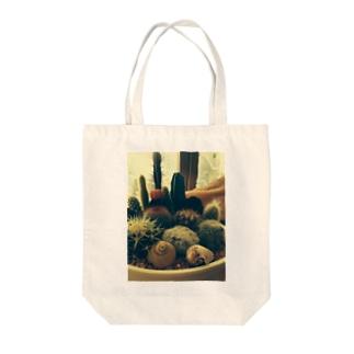 癒しのサボテン Tote bags