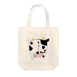 牛尻 Tote bags