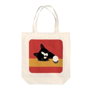 lyingcat_01 Tote bags