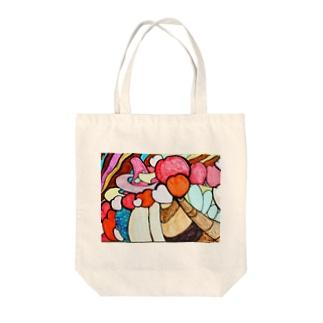 ワンダートラベル Tote bags
