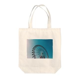 カンランシャ Tote bags