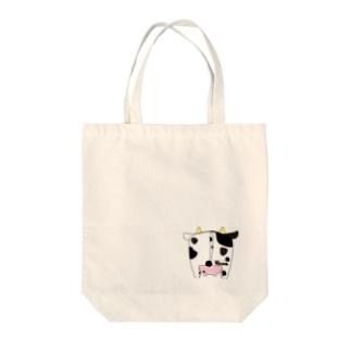 牛尻 小 Tote bags