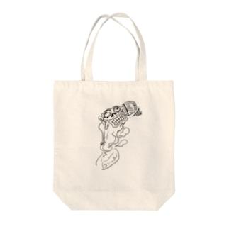 アイタタタ Tote bags