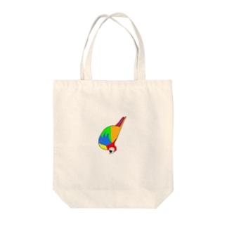 カラとり Tote bags